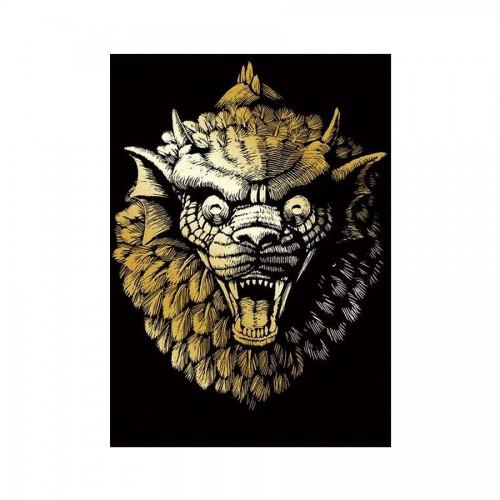 Гравюра Gargoyle Gold
