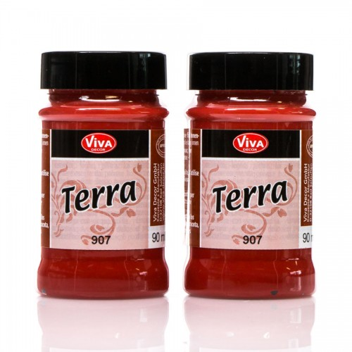 "Terra"" Terracotta Effect Colour - Marrocon-Red"