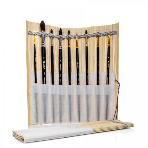 Бамбуковый Коврик Для Кистей 33X33 Cm