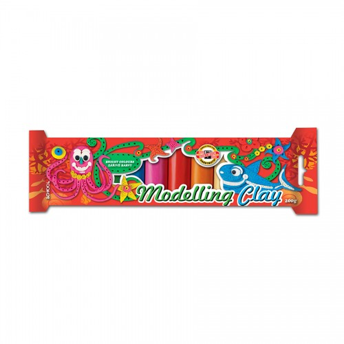 Комплект Пластилина Детский 10 Цветов Koh-I-Noor