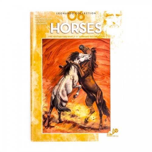 "Книги ""Коллекция Леонардо"", Nr.6 ""Лошади"""