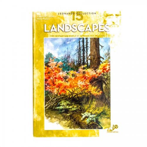 """Книги """"Коллекция Леонардо"""", Nr.15 """"Пейзажи"""""""