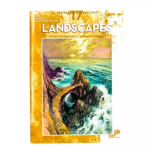 """Книги """"Коллекция Леонардо"""", Nr.17  """"Пейзажи"""""""
