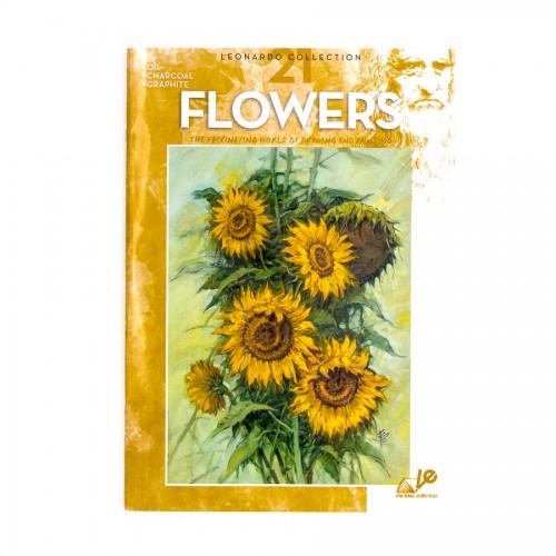 "Книги ""Коллекция Леонардо"", Nr.21 ""Цветы"""