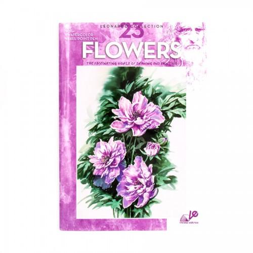 "Книги ""Коллекция Леонардо"", Nr.23 ""Цветы"""