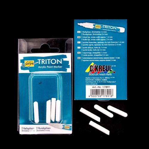 Triton Acrylic Paint Marker 1.4 - Tips  Set