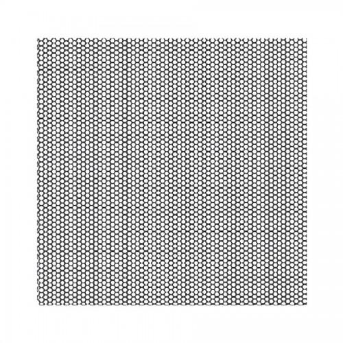 Acrylic Stamp Cm. 10X10 - Honeycomb Texture