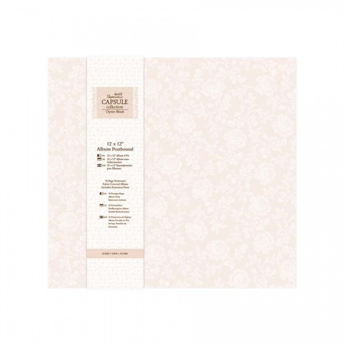 Альбом для скрапбукинга 30х30 cm -Oyster Blush