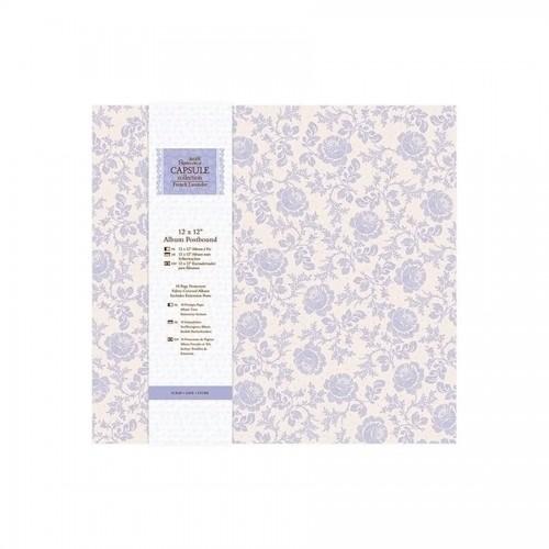 "12 X 12"" Album Postbound (10 Page Protectors) - Ca"