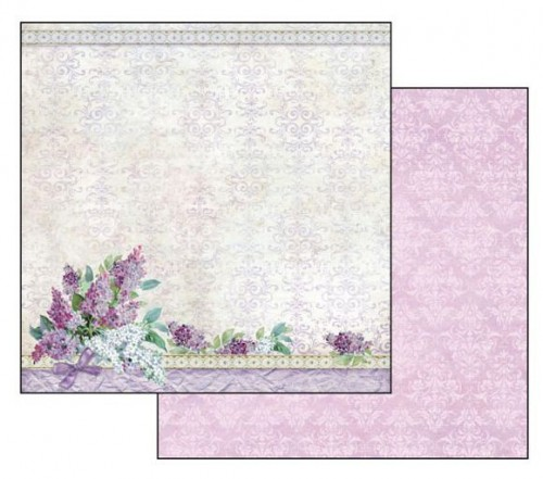 Double Face Scrap Art Paper Texture Bouquet