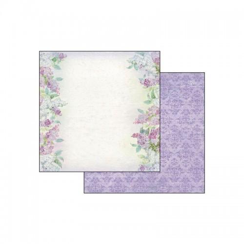 Double Face Scrap Art Paper Texture Lilac