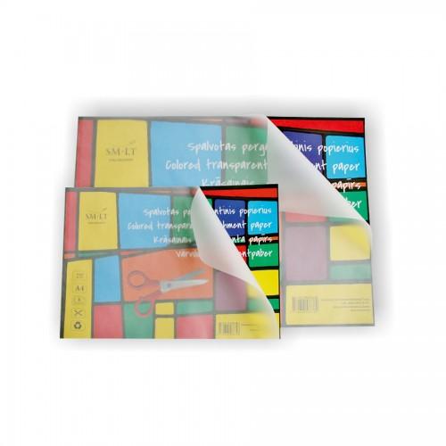 Цветная Пергаментная  Бумага, А4, 6Листов