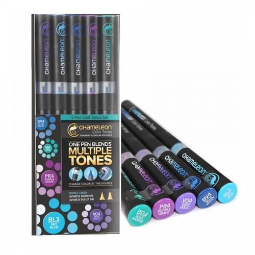 Chameleon 5-Pen Cool Tones Set