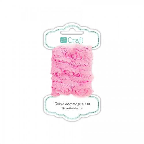 Декоративная Лента, 1М - Sugar Pink