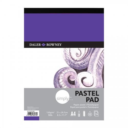 Набор Пастельной Бумагиsimply A4 16Л  Daler-Rowney
