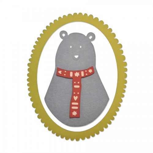 -50% Lõikenoad Thinlits - Loving Bear