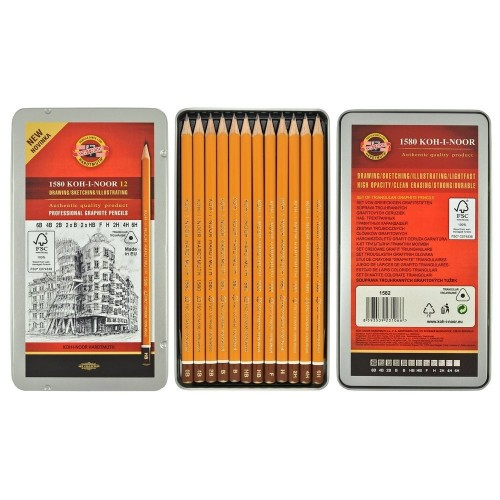 Набор карандашей     , 12 шт,  Koh-I-No