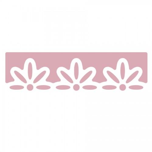 Дырокол Бордюрный 4См, Цветы 3