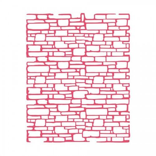 Шаблон 20X25См/0,2Mm Bricks Texture