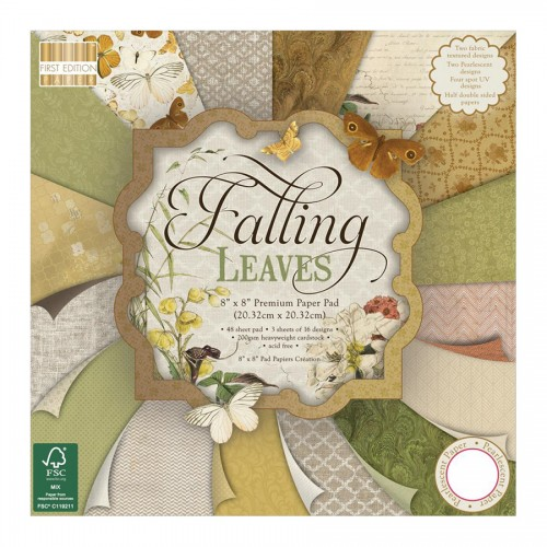 Набор бумаги 20*20см, Falling Leaves