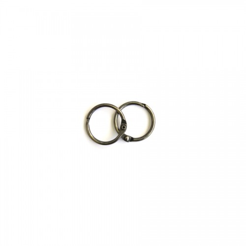 Album Metal Rings 25Mm Silver, 2Pcs