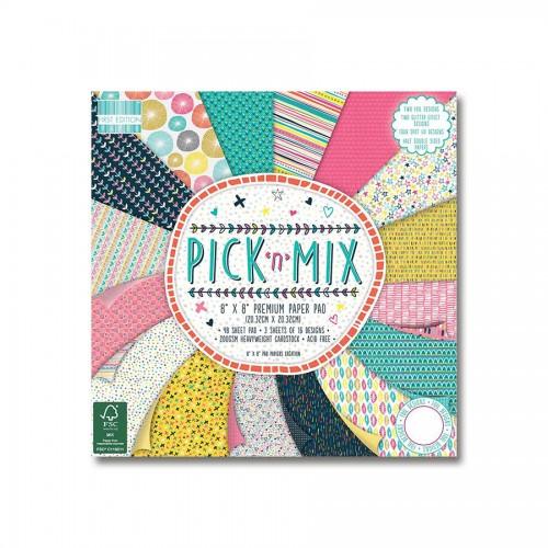 Набор бумаги 20*20см,  Pick N Mix