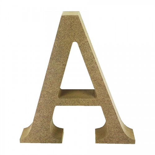 Mdf Letter Blank  A