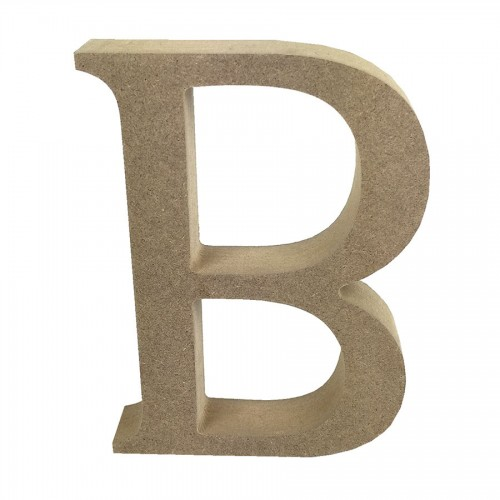 Mdf Letter Blank  B