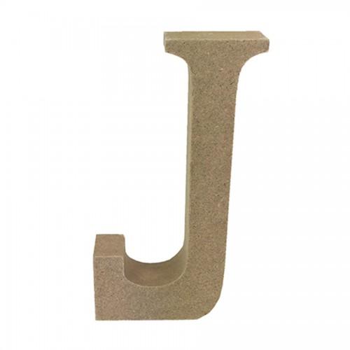 Mdf Letter Blank  J