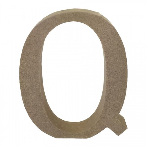 Mdf Letter Blank  Q