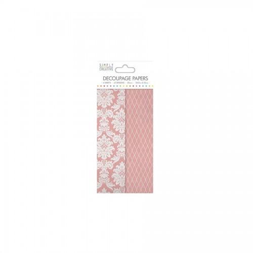 Simply Creative Decoupage Paper Romanticdamask