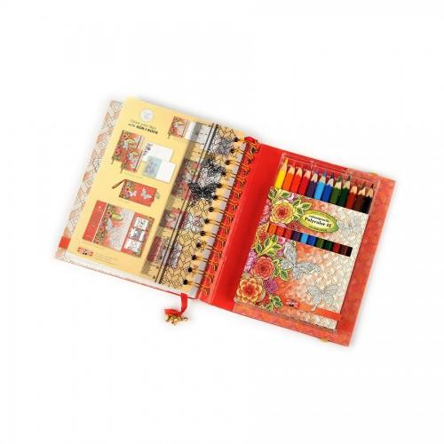 Дневник-раскраска+12карандашей