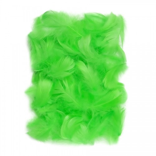 Перья 5-12 См, 10 Г Зеленый