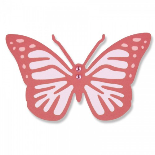 -50% Thinlits Die Intricate Vintage Butterfly By Sophie