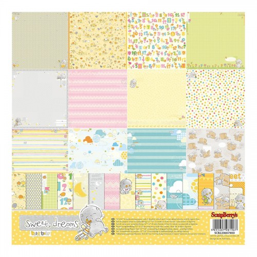 Paper Collection Set Sweet Dreams  (12*12–190GSM),