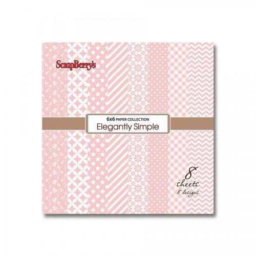 Paper Collection Set Elegantly Simple - Rose Quart