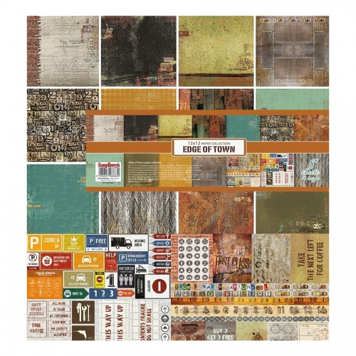 Paper Collection Set Edge of Town (12*12–190GSM),