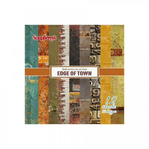 Paper Collection Set Edge of Town (6*6-190GSM), 12