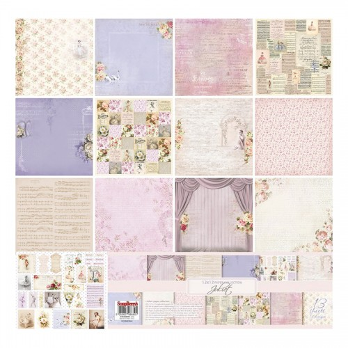 Paper Collection Set Juliet (12*12) 190 gsm (13 Sh