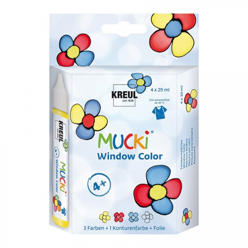 Mucki Window Color Комплект 4Штх29Мл