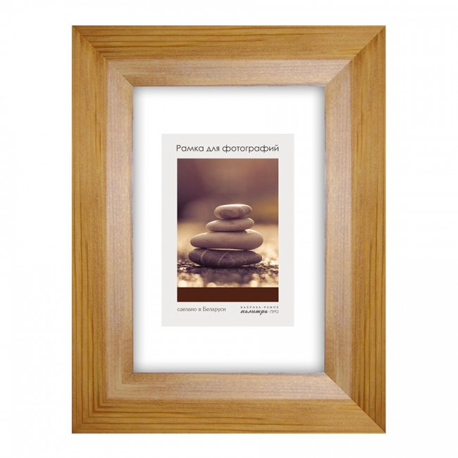 Wooden frame with glass 10х15 D34KL/5063 (oak)
