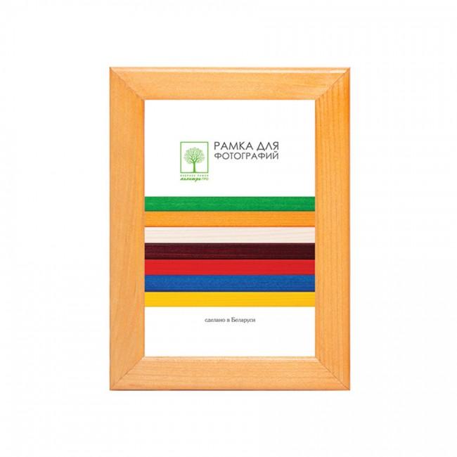 Wooden frame with glass 21х30 D18KL/1522 (maple)
