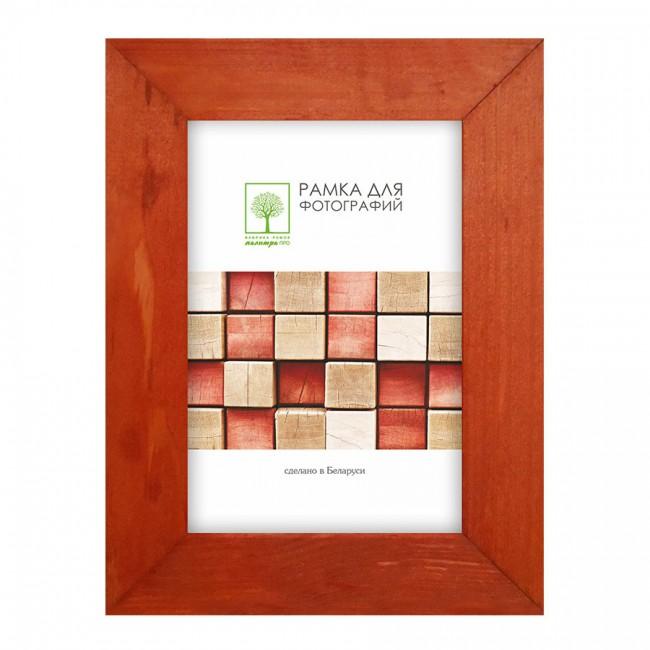 Wooden frame with glass 21х30 D30К/SAD-35 (terracotta)