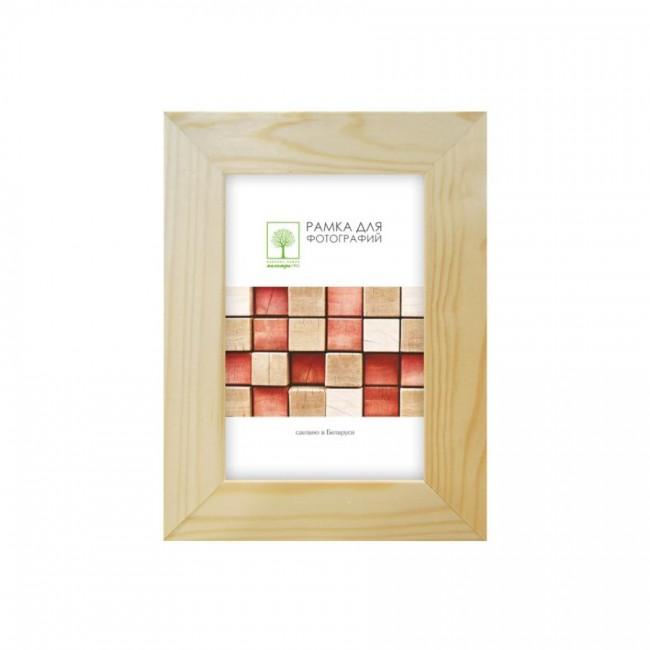 Wooden frame with glass 21х30 D30С