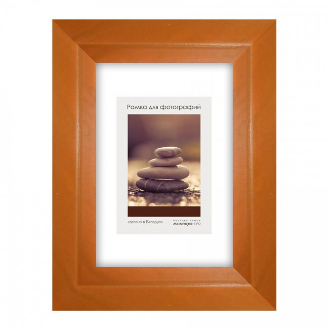 Wooden frame with glass 21х30 D34KL/8023 (apple tree)