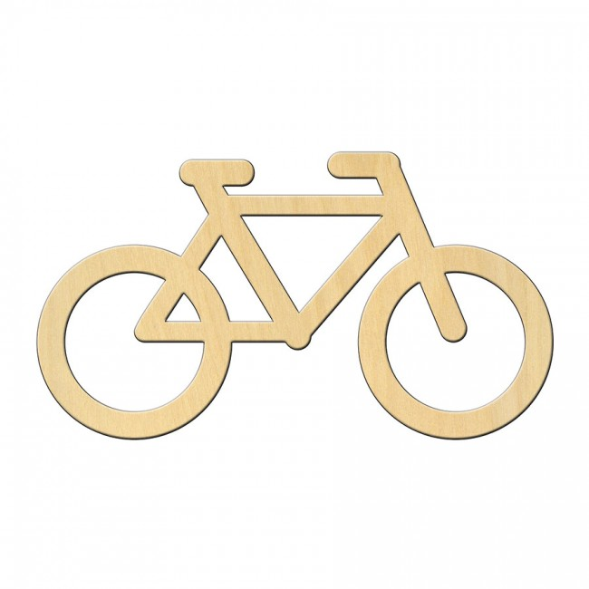 """Wooden pc. for art 441 """"Bicycle"""" 12*6,7 cm"""