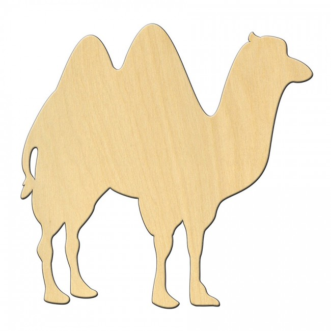 "Wooden pc. for art 463 ""Camel"" 10*9,7 cm"