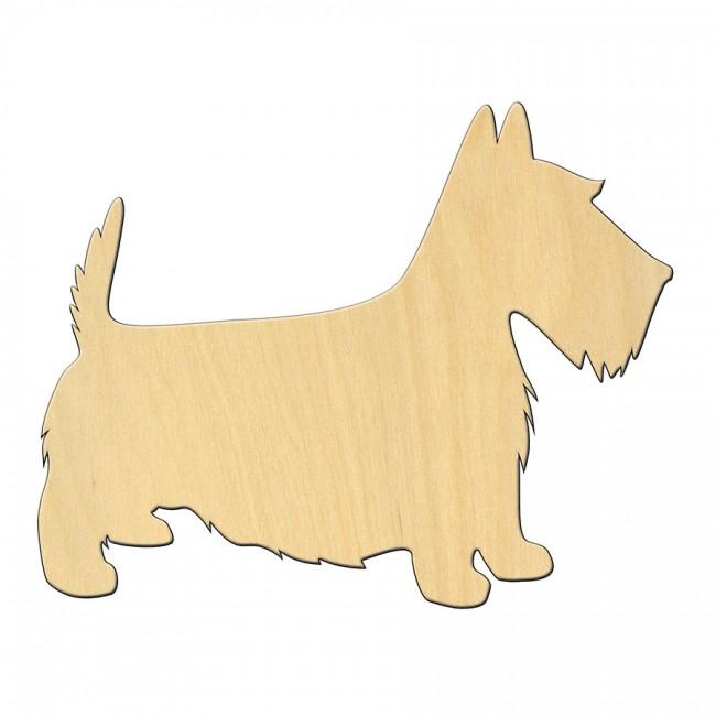 """Wooden pc. for art 477 """"Dog №2"""" 11,2*8,9 cm"""