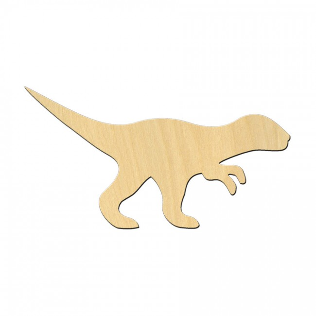 "Wooden pc. for art 501 ""Dinosaur №1"" 12х6,4 cm"