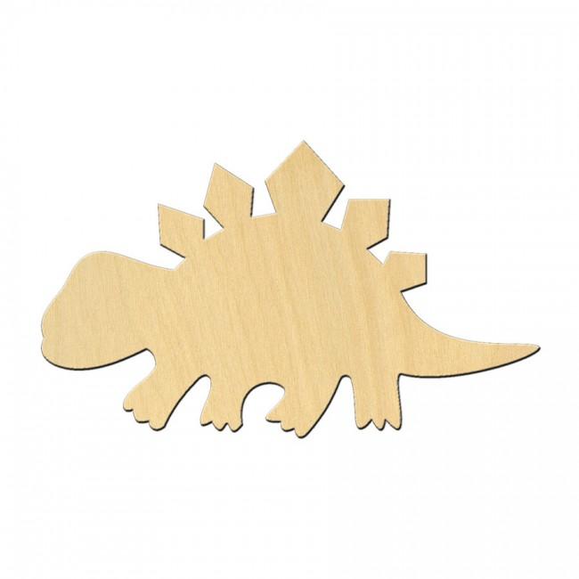 """Wooden pc. for art 506 """"Dinosaur №6"""" 10х6 cm"""